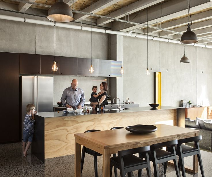 Industrial kitchen style: Q&A with architects Andrea Bell and Andrew Kissell - Homes To Love