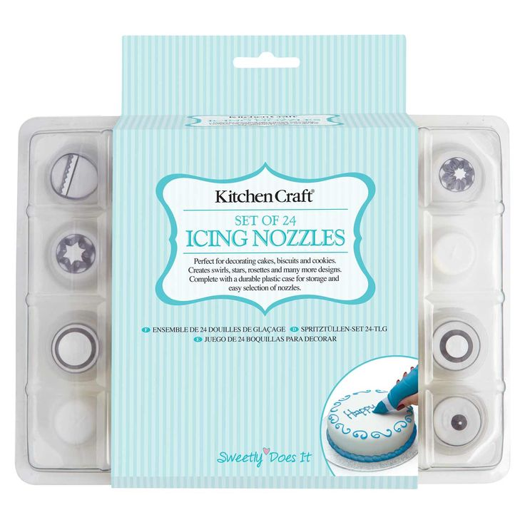 Sweetly Does It Icing Nozzle Set 24Pc