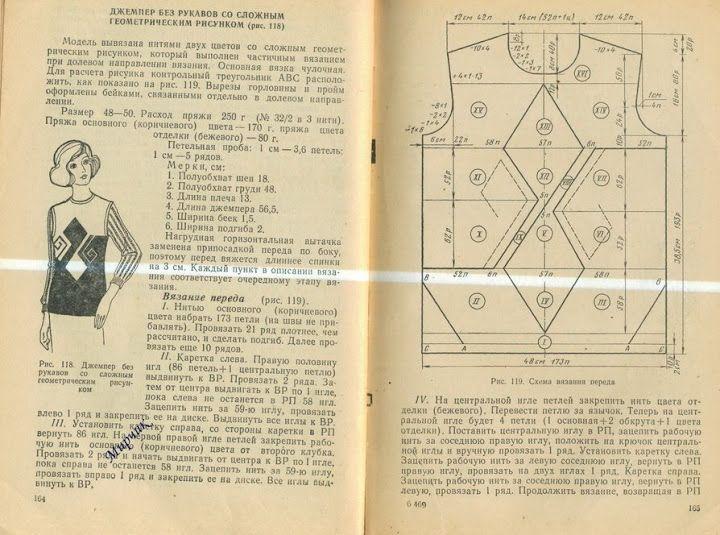Учитесь вязать на ручной машине 1977 г - Мирослава Побрызгаева - Picasa Web Albums