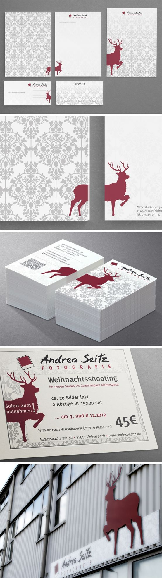 corporate design for Andrea Seitz Fotografie | #stationary #corporate #design #corporatedesign #logo #identity #branding #letterhead #briefpapier #visitenkarte #business card #Germany | made with love in Stuttgart by www.smoco.de