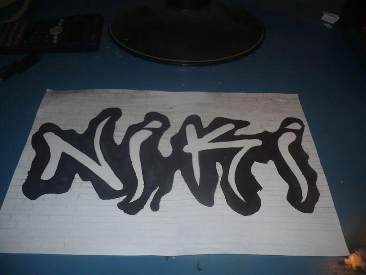 my ex Draw Graffity