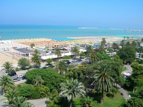 Pescara, veduta mare