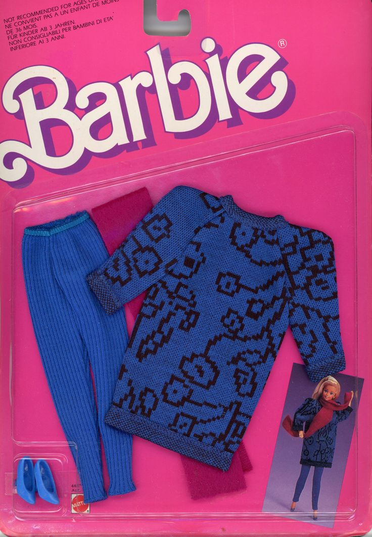 Barbie Sweater Soft Fashions