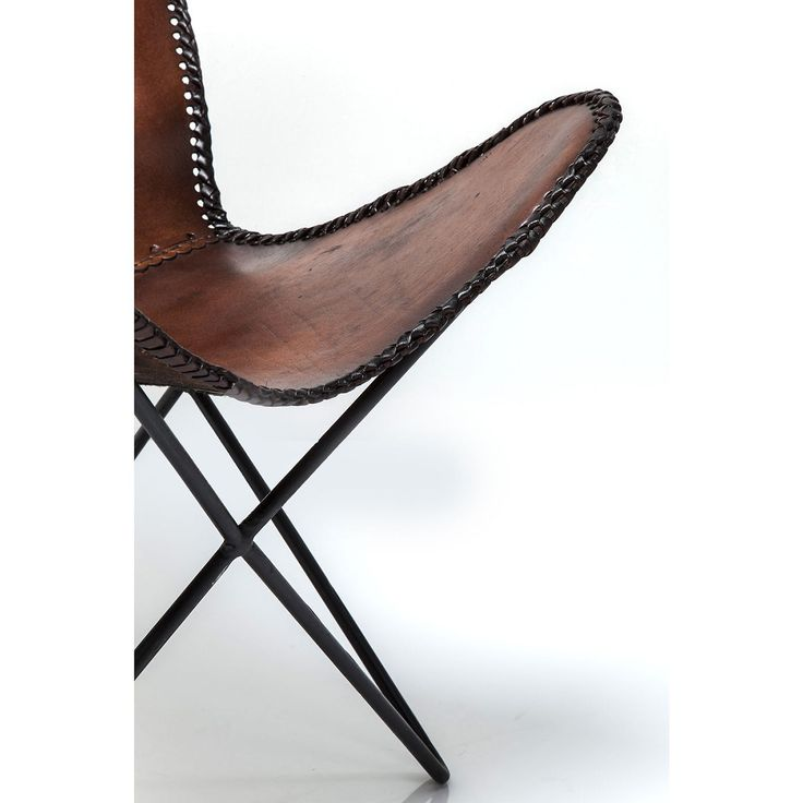 KARE Design Butterfly Brown Eco Armchair