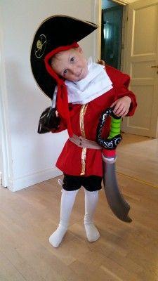 Kapten Krok-kostym
