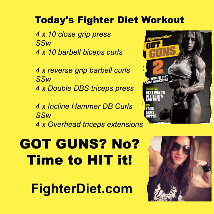 Got Guns | Arm Training Fighter Diet Style