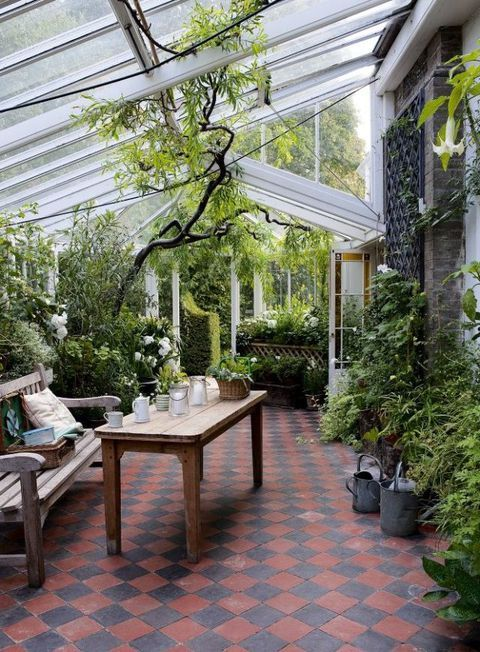 17 Conservatories And Garden Rooms To Inspire You To Bring The Outdoors In Garden Room Garden Globes Conservatory Garden