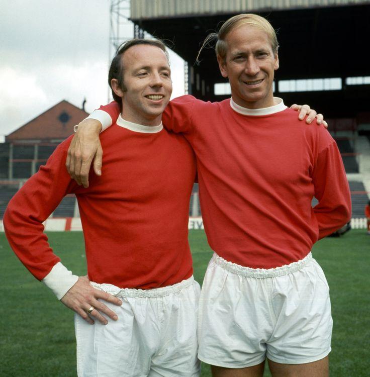 Bobby & Nobby, Old Trafford 1969.