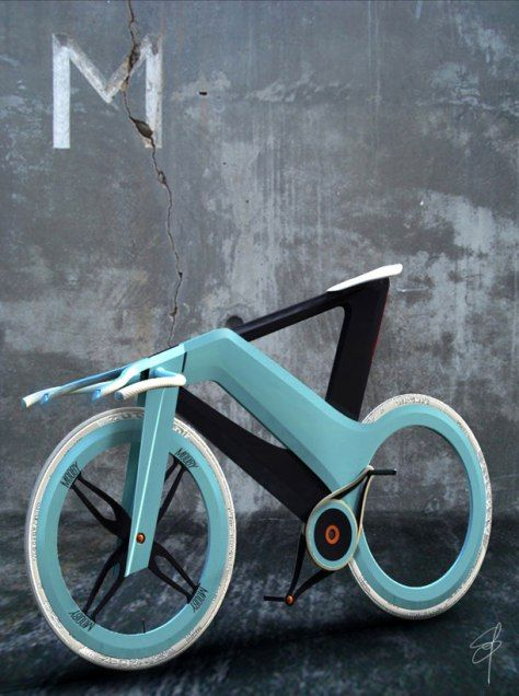 The Mooby Bike by Simone Madella is uber innovative vehicle that totally pushes the boundries of the traditional concept of a bicycle. The design is very unique in comparison to the the wide-spread...