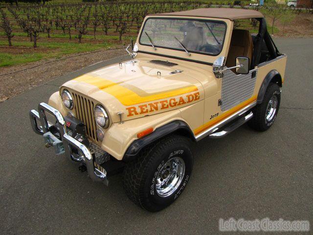 1981 Jeep CJ7 for Sale in California