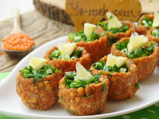 Mercimek Köftesi Çanakları Resimli Tarifi - Yemek Tarifleri
