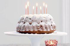 Op en top feest, deze mooie, klassieke tulband met sukade en rozijnen. Vrolijk Kerstmis! - recept - Allerhande