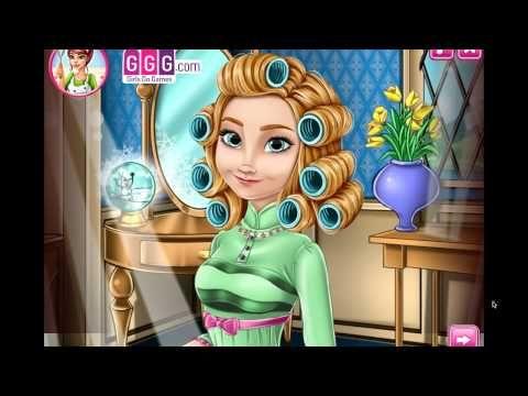Anna Frozen Makeover