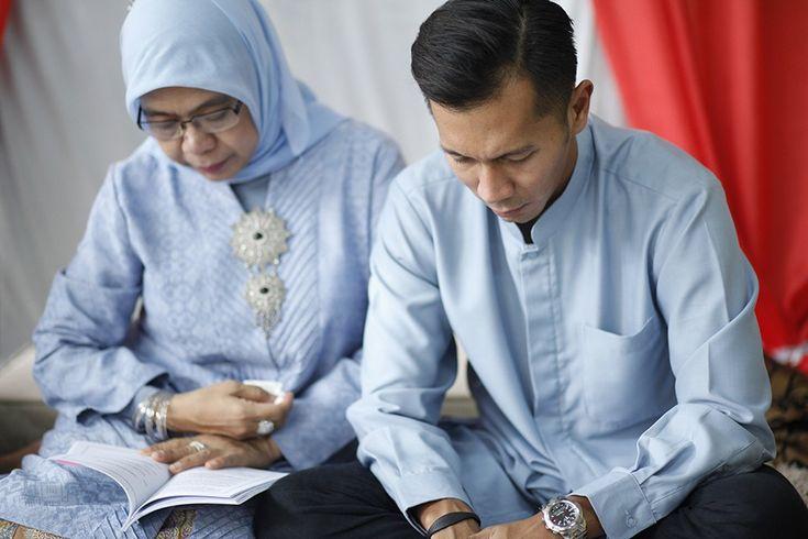 Pengajian Pernikahan Vina dan Andro di Jakarta