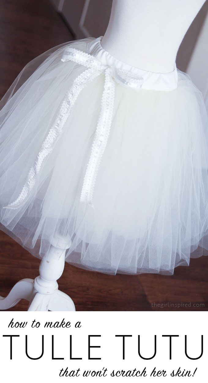 How to Make a Tutu that won't scratch your little girl's skin!