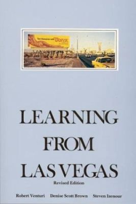 Cover image for Learning from Las Vegas : the forgotten symbolism of architectural form