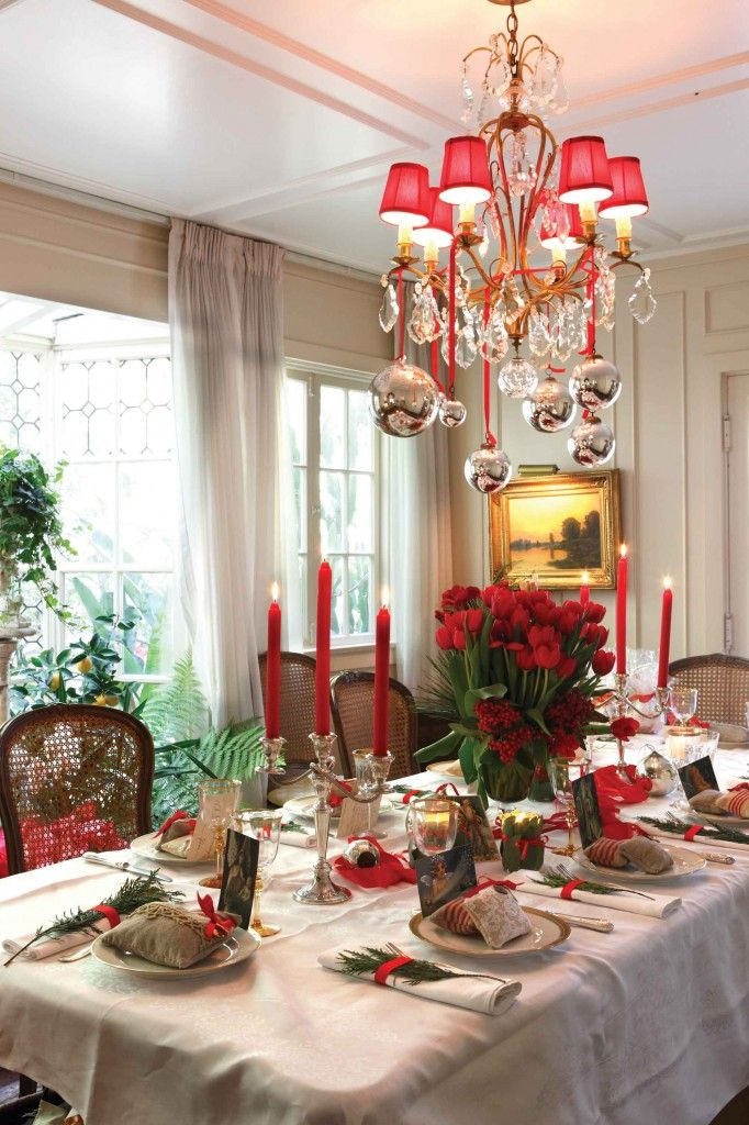 How to Decorate for Christmas in European Style, Cottages and Bungalows. By Andrea Drexelius Photography by Mark Tanner Styled by Andrea Drexelius and Jacqueline deMontravel