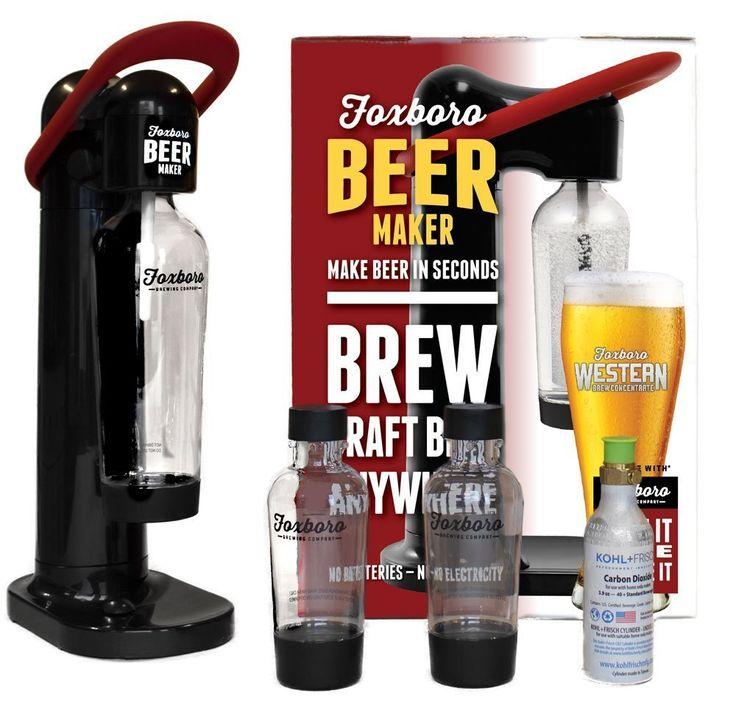 Liquorama - Foxboro Beer Maker Machine, $99.99 (http://www.liquorama.net/foxboro-beer-maker-machine.html)