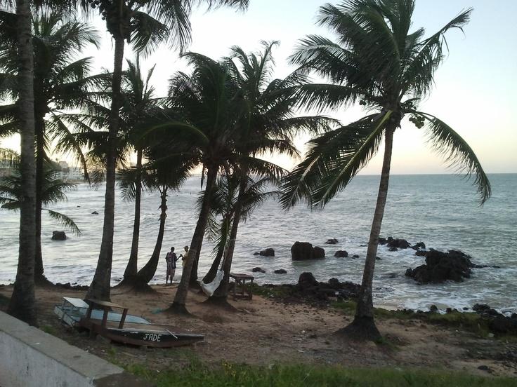 Praia dos artistas. Natal RN, Brasil