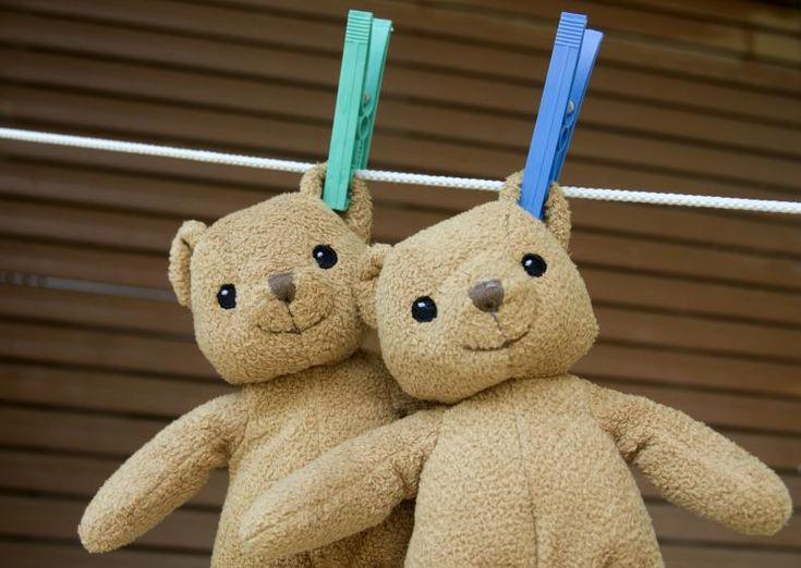 trucos para lavar y desinfectar osos de peluche 3