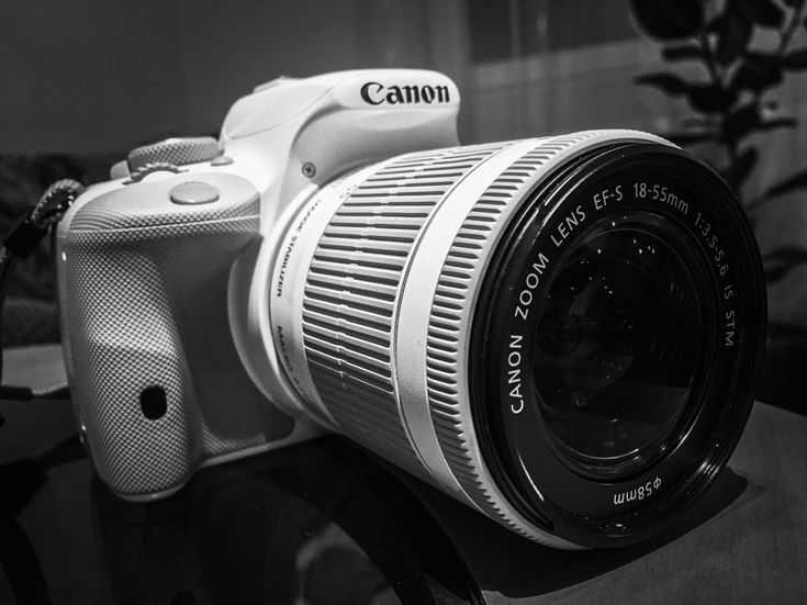 Canon EOS 100d - White Edition