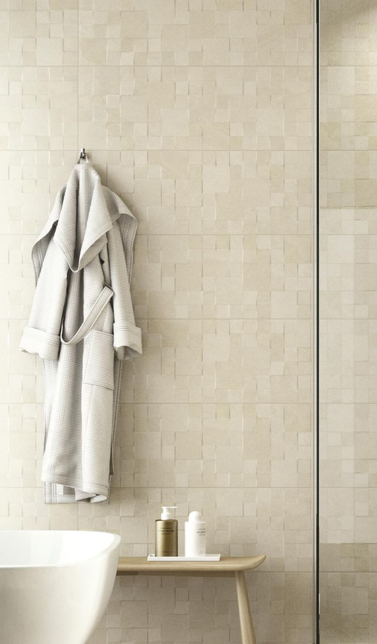 Stoneware bathroom accessories - Natural Form Is The Perfect Collection For Your Bathroom