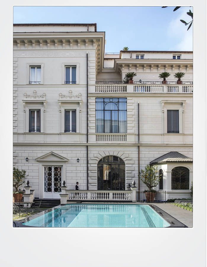 L 39 h tel le plus chic de rome en 2016 elle d coration i for Hotel rome chic