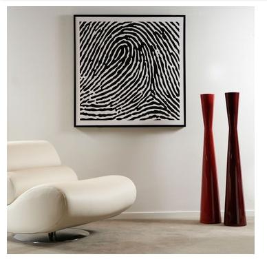 Fingerprint vector art diy since cant nobody afford that dna map art thats like