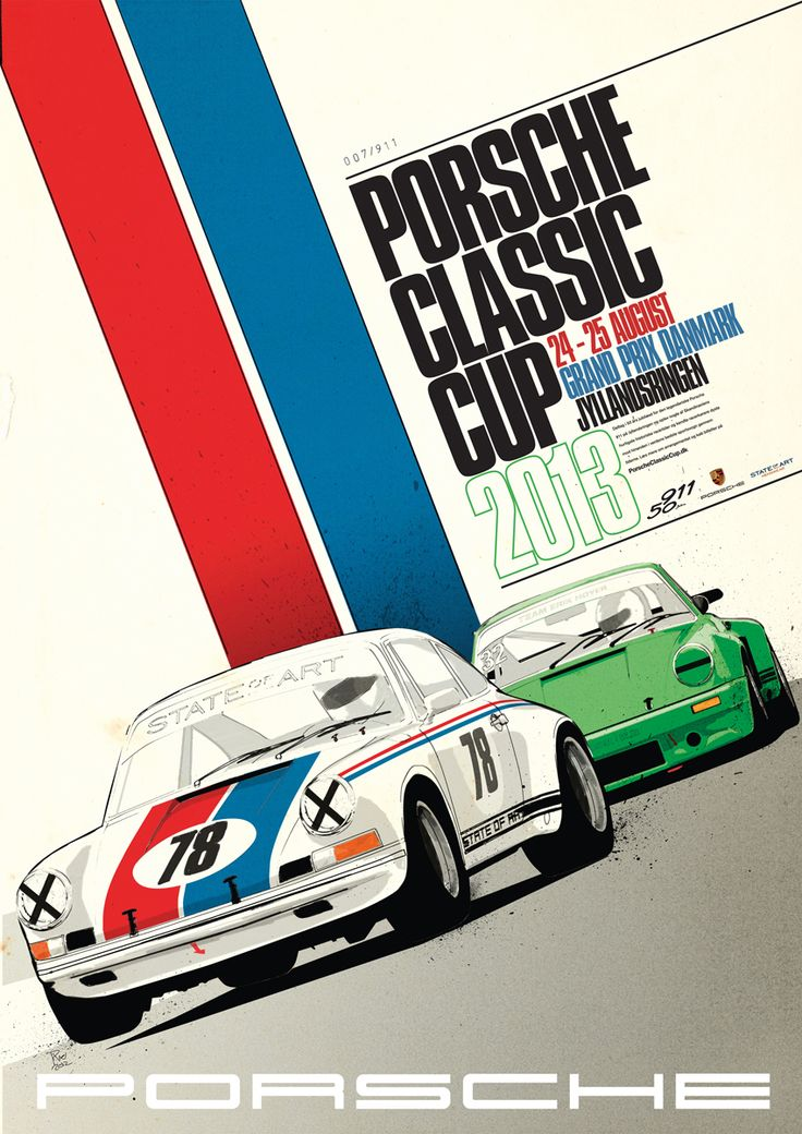 Porsche Classic Cup Poster #porsche