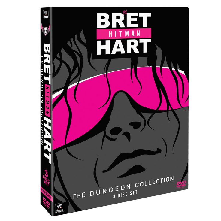"Bret ""Hit Man"" Hart - The Dungeon Collection DVD - #WWE"