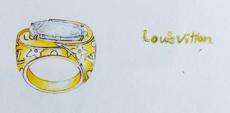 Louis Vitton by Neda Lotfian Gold & Jewellery Design