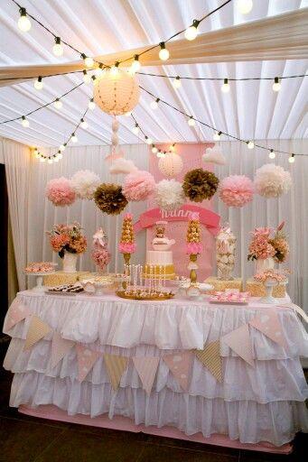 144 mejores im genes sobre rosa y dorado en pinterest for Decoracion de cumpleanos rosa y dorado