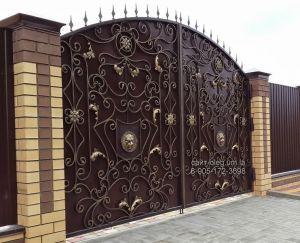 кованые ворота губкин