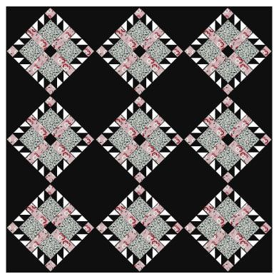 Bear's Paw Quilt Block Pattern Looking at things in a different way
