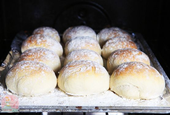 Making your own Bread Rolls is a great way to know what is going into the foods you eat, and they are really simple to make. As an added bonus you can eat them fresh out of the oven!