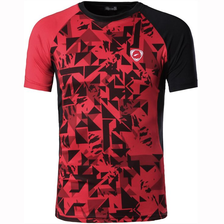 New Arrival 2017 men Designer T Shirt Casual Quick Dry Slim Fit Shirts Tops & Tees Size S M L XL LSL193