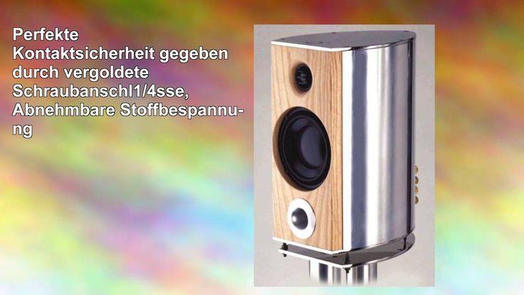 awesome Oheocha Cliona 2wege Kompaktlautsprecher Aluminium poliert Check more at http://gadgetsnetworks.com/oheocha-cliona-2wege-kompaktlautsprecher-aluminium-poliert/
