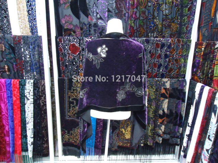 2014 мода женщин тигр цветочные шелковый шарф платок осень и зима выгорания бархат шарф женщин горячая распродажа мама подарок бесплатная доставка купить на AliExpress