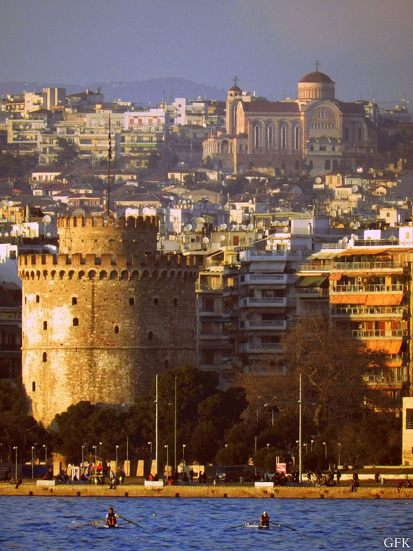 White Tower,Thessaloniki | by GFKonsoulas