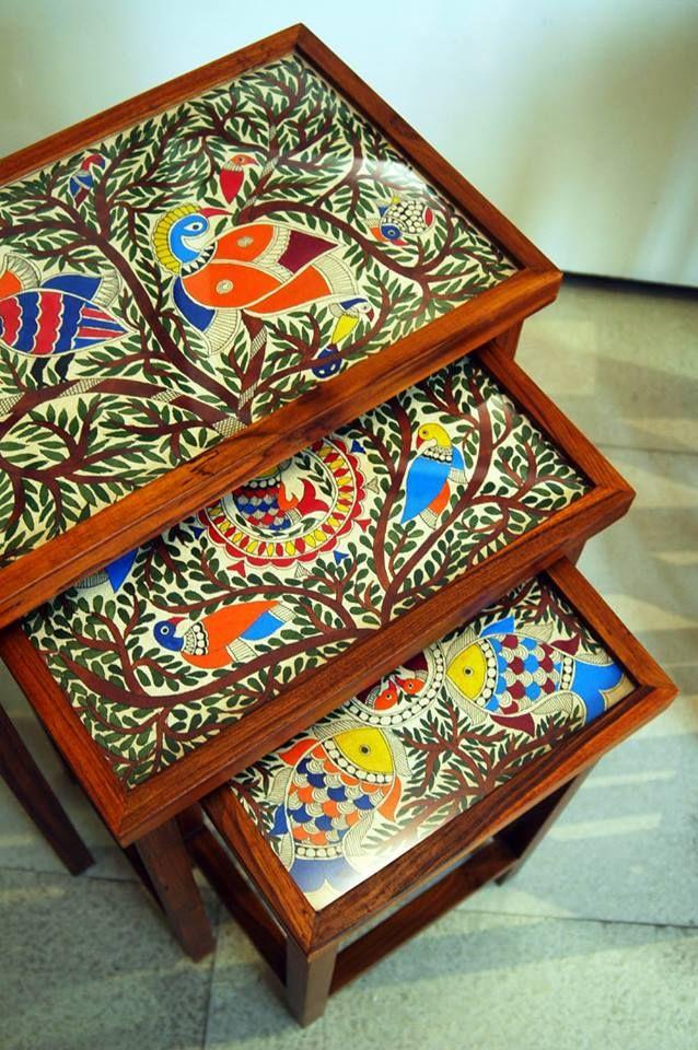 Mithila Nested Table Set