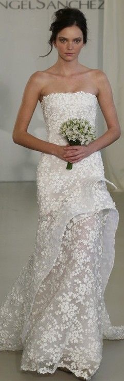 Angel Sanchez Bridal Spring 2014 ♥✤ | Keep the Glamour | BeStayBeautiful