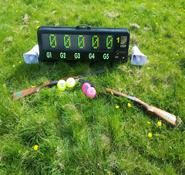 Laser clay pigeon shooting for hire. Our laser clay pigeon shooting can be hired worldwide.