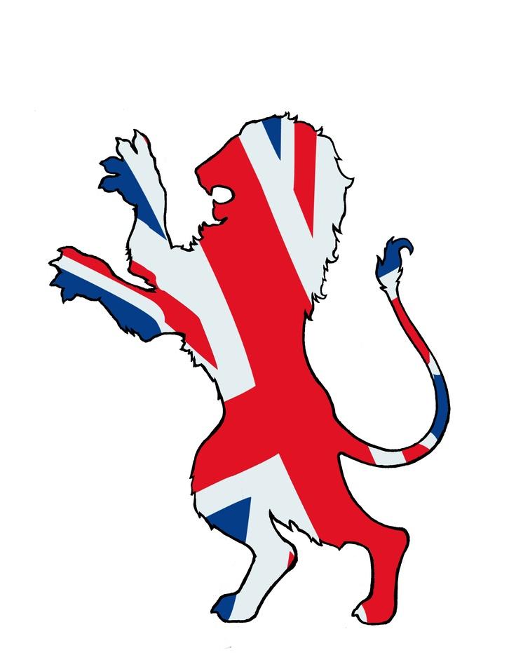British Lion- inspiration for Narnia banner