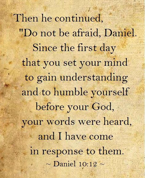 Humble Yourself, Do Not Be Afraid And Daniel O'connell On