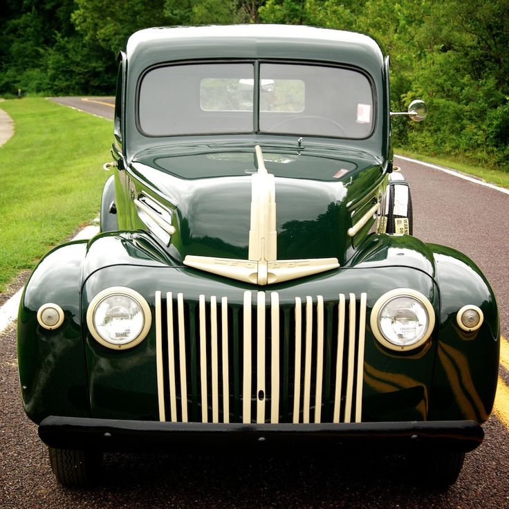 48 Ford 'Jailbar' Trucks Images On