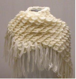 Free Crochet Patterns For Bridal Shawls : Knit And Wedding // Bridal Accessories and Free pattern ...
