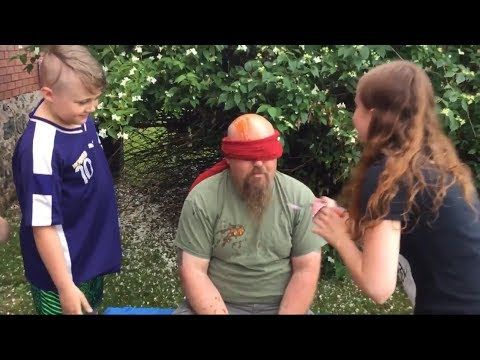 Blindfolded Taste Test With Dad - YouTube