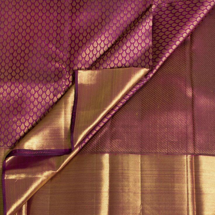 Kanakavalli Handwoven Kanjivaram Silk Sari 1010793 - Sari / All Saris - Parisera