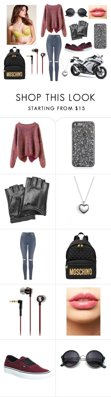 """Broken Arrows - Avicii"" by samanthadanetti on Polyvore featuring moda, Karl Lagerfeld, Pandora, Topshop, Moschino, Sennheiser, LASplash, Vans, Kawasaki y women's clothing"