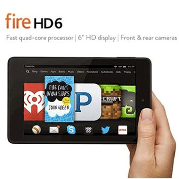Kindle Fire HD 6 Tablet Giveaway Open to: United States, Canada  Ending on: 03/07/2015